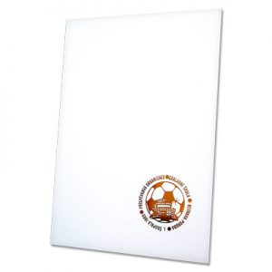 složka Standard – bílá křída – s ražbou
