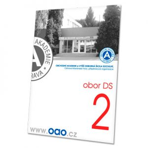 složka Standard – bílá křída – 2 klopy – tisk vlastního designu