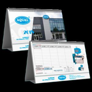 Kalendář STV1A týdenní (výroba z dat klienta) /tabulkový