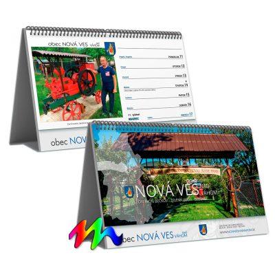 Kalendář STV1B týdenní (výroba z dat klienta) /řádkový