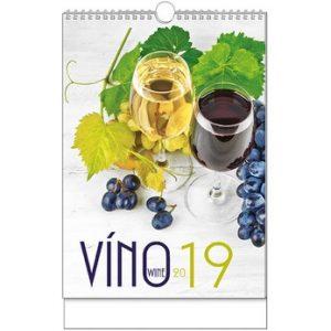 Víno (nástěnný kalendář) – BNF1