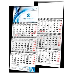 Kalendář L1 s potiskem (tříměsíční)