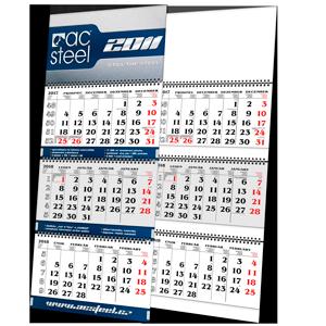 Kalendář L2 s potiskem (tříměsíční)