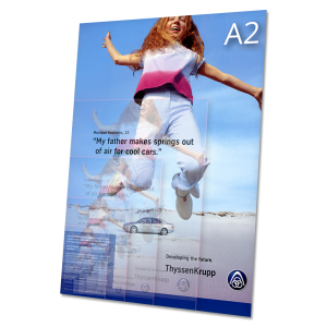 letáky A2 – objednávka tisku