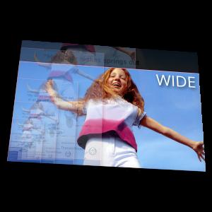 tisk formátu WIDE (660×330) – 4/0 – Xerox 80 g/m2