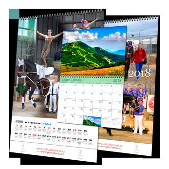 Nástěnné kalendáře 2021
