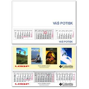 Kalendář P-A1 (tříměsíční)