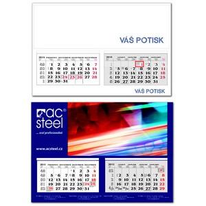 Kalendář P-A2 (dvouměsíční)