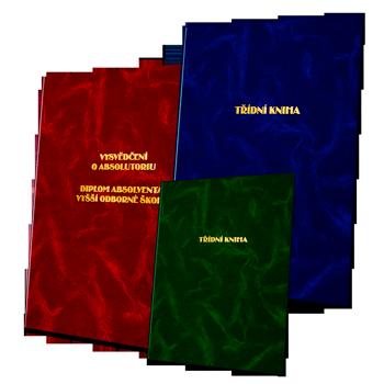 Desky a třídní knihy
