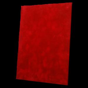 Luxusní sametové desky – červená