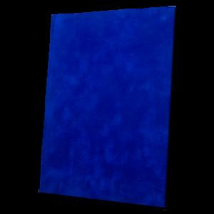 Luxusní sametové desky – modré