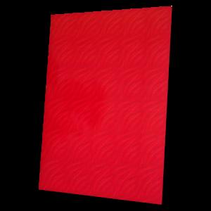 složka Standard – potištěná bordó – vzor vlna
