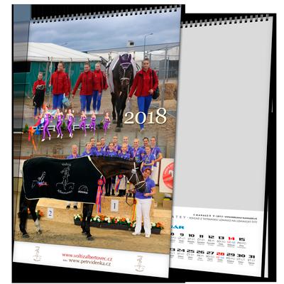 Kalendář NTV (výroba z dat klienta)