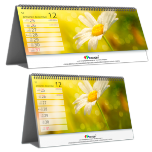 Kalendář STV1C týdenní (výroba z dat klienta) /atraktivní