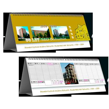 Kalendář STV2A dvoutýdenní (výroba z dat klienta) /tabulkový