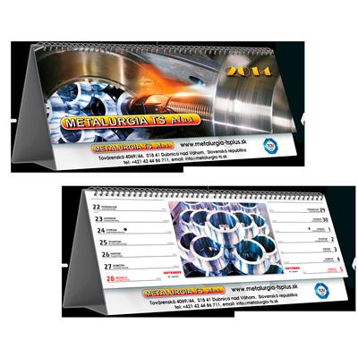 Kalendář STV2B dvoutýdenní (výroba z dat klienta) /řádkový