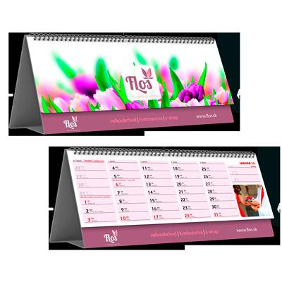Kalendář STV3A měsíční (výroba z dat klienta)