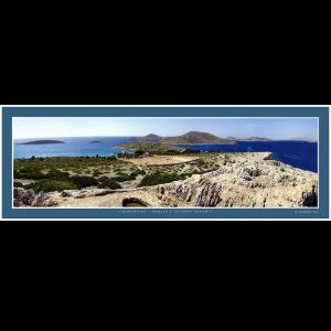 14 – Chorvatsko – Pohled z ostrova Žakaň – 1