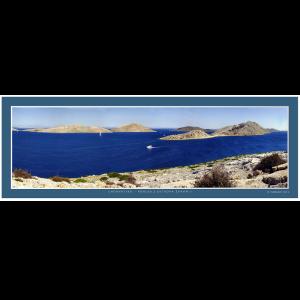 16 – Chorvatsko – Pohled z ostrova Žakaň – 3