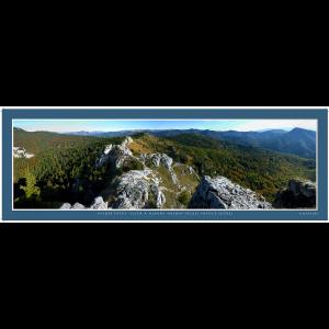 22 – Vysoké Tatry – Tlstá a Hlavný hrebeň Veľkej Fatry z Ostrej