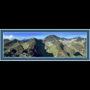 24 – Vysoké Tatry – Pohled na Ľadové Štíty z Prostredného Hrotu