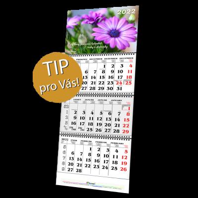 ZELENÝ PROGRAM – Tříměsíční nástěnný skládací kalendář (L-1/3M) – od 1 ks