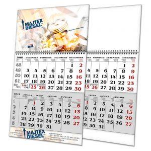 Kalendář S2 s potiskem (dvouměsíční)