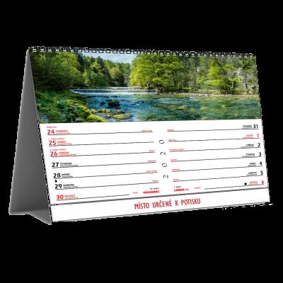 Kalendář STV2D dvoutýdenní (výroba z dat klienta) /panorama