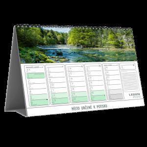 Kalendář STV3D měsíční (výroba z dat klienta)