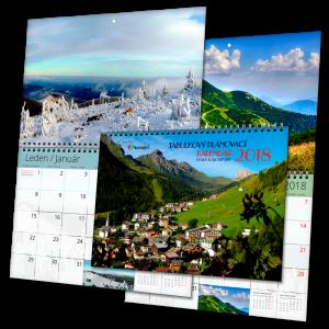 Kalendář ZTN měsíční (výroba z dat klienta)