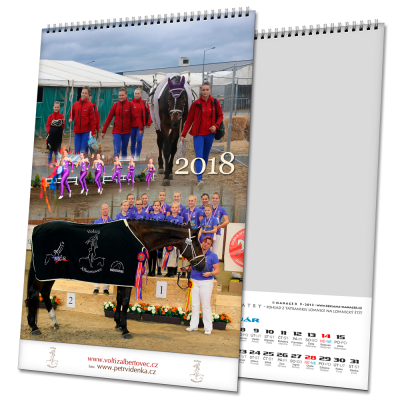 Kalendář NTV/NTS (výroba z dat klienta)