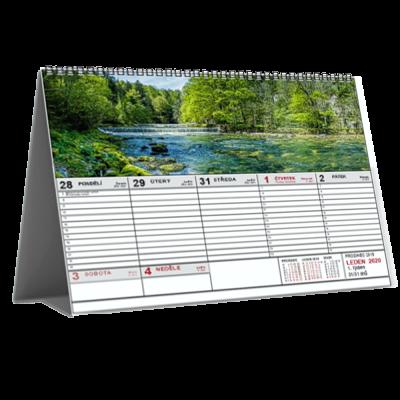 Kalendář STV1D týdenní (výroba z dat klienta) /panorama