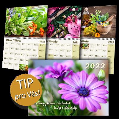 ZELENÝ PROGRAM – Závěsný tabulkový kalendář 430×300  nebo 600×430 – od 1 ks